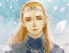 "Legolas from ""Lord of the Rings"" - Art by yoku (liuyc)"