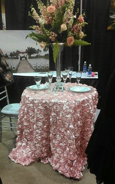 Tablecloth for our Sweetheart table