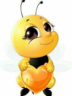 lovely cartoon bee set vectors 06 - www. Cartoon Cartoon, Funny Emoji Faces, Bee Pictures, Emoji Symbols, Emoji Images, Cartoon Images, Cute Bee, Bee Art, Bee Happy