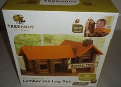 TreeHaus LumberJax Lot Set NIB General Store 165 pieces #TreeHaus