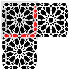 Zelij Moroccan Wall Stencils Reusable by JboutiqueStencils on Etsy