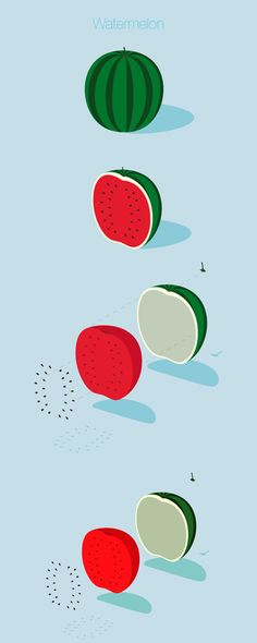 This personal project is an mix of animation and illustration on fruit.