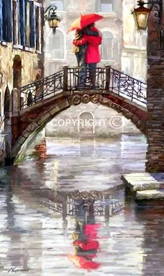 Canal Bridge ~ by Richard MacNeil