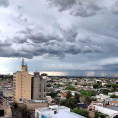 Llueve sobre la ciudad #bahiablanca #rain
