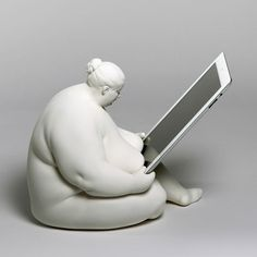 Plus-Sized Tablet Accessories - The Venus of Cupertino iPad Holder is Decorative…