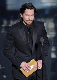 Christian Bale 84th academy awards