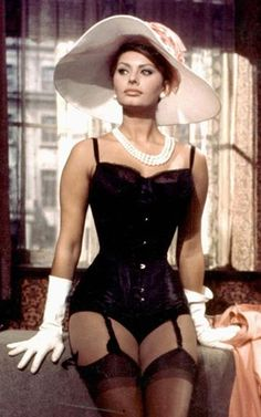 """Everything you see, I owe to spaghetti"" Sophia Loren"