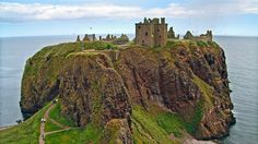Dunnottar Castle, Northern Scotland ~ Open to the Public. In spite of its unique location, it was captured many times.