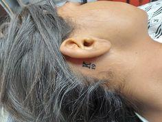 @westend_tattoo @westentattoobp #westendtattooandpiercing #tattoo #ear tattoo #font tattoo #text tattoo #tetoválás #szám tetoválás #kis tetoválás #small tattoo #felirat tetoválás #number tattoo Number Tattoo Fonts, Number Tattoos, Behind Ear Tattoo Small, Tattoo Ideas, Tattoo Designs, Tattos, Budapest, Small Tattoos, Tattoos For Women