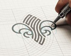 LIS Holistic Therapies – # Holistic – About Graphic Design Blog Logo, Mises En Page Design Graphique, Typographie Logo, Geometric Logo, Grafik Design, Identity Design, Graphic Design Inspiration, Design Art, Lettering