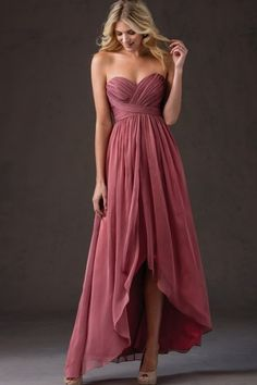 Non traditional Sweetheart A-line Ruched Sleeveless Chiffon Floor-length Bridesmaid Dresses