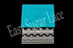 Silicone ANTIQUE CAKE LACE Mat / Mold for Edible Sugar Lace (whole mat) - Free Shipping