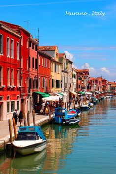 Murano, Italy | This place will put a dent in your pocket on their extraordinarily beautiful art glass. I sure do love their glass jewelries :)
