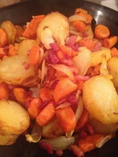 Poêlée carottes et pomme de terre à l'actifry (ou pas)