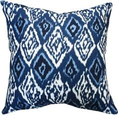 Ashbury Ikat, Ink - love this print for pillow/curtains.  this is a great site for fabrics!