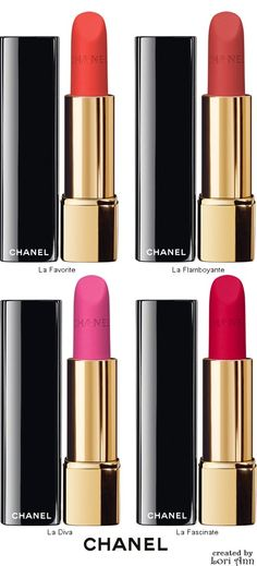Chanel Rouge Allure Velvet Intense Long-Wear Lip Colour
