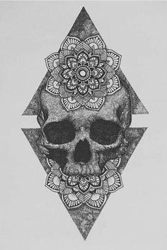 Ear Piercing Ideas For Females Skull Thigh Tattoos, Thigh Tattoo Men, Best Leg Tattoos, Skull Hand Tattoo, Knee Tattoo, Skull Tattoo Design, Tattoo Designs Men, Arm Band Tattoo, Body Art Tattoos