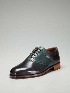 Florsheim by Duckie Brown - Saddle Shoes. My mad men scotch drinking busy business shoes. CREAM.