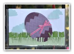 Hostess Club Easter Project Life Layout Cheerful Critters Oval Framelits plus Little Letters Thinlits and cupcake punch