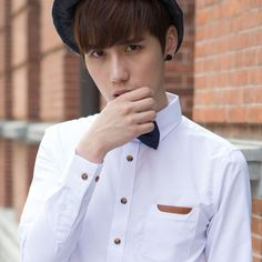 Find More Casual Shirts Information about 2014 Rushed Top Fashion Solid Regular Dobby Mut Autumn Mens Long Sleeve Shirt Korean Cultivating Youth Business Leisure Dp Pure,High Quality Casual Shirts from RAINBOW HALL on Aliexpress.com
