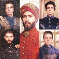 Sultan Ahmet Han, Şehzade Mustafa, Şehzade Osman, Şehzade Mehmet, İskender