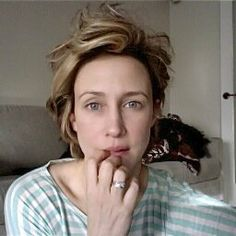 The natural Vera Farmiga, her Facebook&Twitter profile picture. I love how she doesn't have to take totally over the top photos to look great..