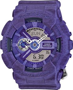 online shopping for Casio G-Shock S-Series Heathered Color Luxury Watch - Purple / One Size from top store. See new offer for Casio G-Shock S-Series Heathered Color Luxury Watch - Purple / One Size G Shock Watches, Casio G Shock, Sport Watches, Boys Watches, Rose Gold Apple Watch, Timex Watches, Analog Watches, Women's Watches, Luxury Watches For Men