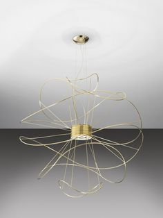 LED pendant lamp HOOPS by AXO LIGHT | Design Giovanni Barbato
