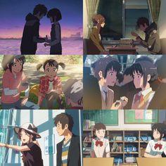 Kimi no na wa Your name Kimi No Na Wa, Manga Art, Manga Anime, Anime Art, Fanart, Otaku, Your Name Anime, Good Anime Series, Anohana