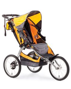 Set your pace with the BOB Ironman jogging stroller.