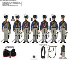 Titre de l'image 3ème Escadron du 7ème Régiment de Uhlans