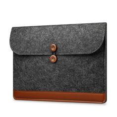 Wool Felt Cover Case 11 12 13 15 inch Laptop Bag Sleeve Pouch for Apple Macbook Air 11 13 Pro 13 Retina Laptop Case Cover Macbook Air Pro, Macbook 15 Inch, Macbook Laptop, Macbook Sleeve, Laptop Cases, Iphone 5c Blue, Notebook Bag, Laptop Bag For Women, Leather Laptop Bag