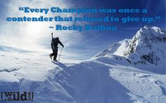 Extreme Sports Quote of the Week