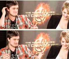 so adorable when josh is trying to tease jennifer in her kissing skills :)
