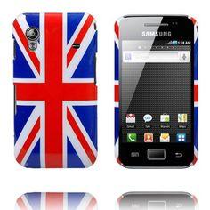 British Flag Samsung Galaxy Ace Deksel