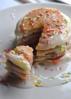 Bake n' Beebz: Healthy Gluten Free + Vegan Funfetti Party Pancakes--- must try!!