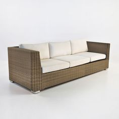 Part of the Paulo all-weather wicker collection, this loveseat pairs well with the Paulo armchair and loveseat. It is available in antique java, kubu gray,