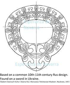 rus sword design 10th c 2 wm