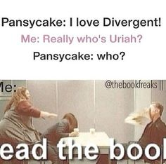 if u  are true divergent fan u should read the book