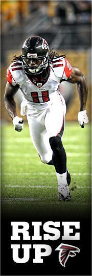 Julio Jones-Favorite African American male athlete    -play for the Atlanta Falcons(Rise Up)  -#11
