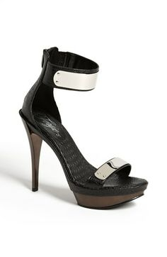 Fergie 'Cash' Sandal~ I have these & this picture does not do justice…very sexy!