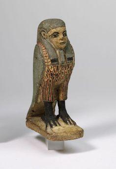 Ba-bird                                      Date:                      6-4th centuries BC                                                                                                    Medium:                     wood, paint