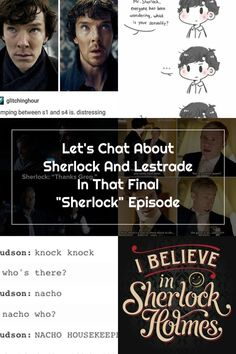 "Let's Chat About Sherlock And Lestrade In That Final ""Sherlock"" Episode"