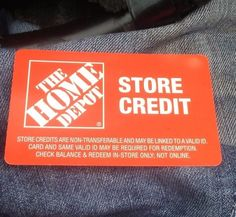 HOME DEPOT GIFT CARD / STORE CREDIT $65.03 card in hand ready to ship #HomeDepot