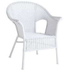 White Whicker stacking chairs at Pier One, $90/each, sale price