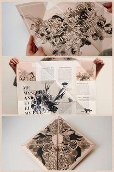 Cute way to fold !