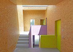 Parcourez les images de Couloir, Entrée & Escaliers de style de style Moderne de MMR _ maison à réchy. Inspirez-vous des plus belles photos pour créer votre maison de rêve.