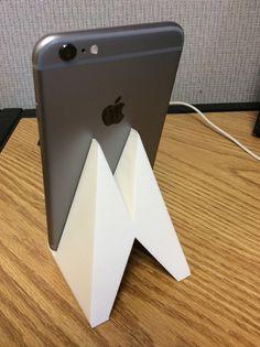 iPhone 6 Plus Stand by Dlarama http://thingiverse.com/thing:502796