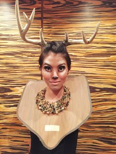 Taxidermy Deer Halloween Costume Inspiration (A-doe-rable!)