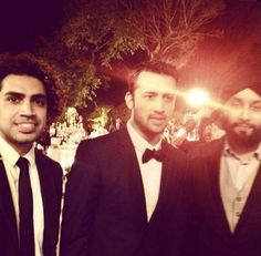 Atif Aslam Walima Picture With His Friends